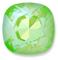 Custom Effect Ultra AB Lime on Swarovski-4470