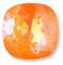 Custom Effect Ultra AB Orange on Swarovski-4470