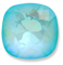 Custom Effect Ultra AB Turquoise on Swarovski-4470