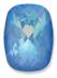 Custom Effect Ultra AB Blue on Swarovski-4568