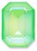 Custom Effect Ultra AB Lime on Swarovski-4610