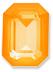 Custom Effect Ultra AB Orange on Swarovski-4610