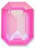 Custom Effect Ultra AB Pink on Swarovski-4610