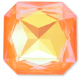 Custom Effect Ultra AB Orange on Swarovski-4675