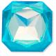Custom Effect Ultra AB Turquoise on Swarovski-4675